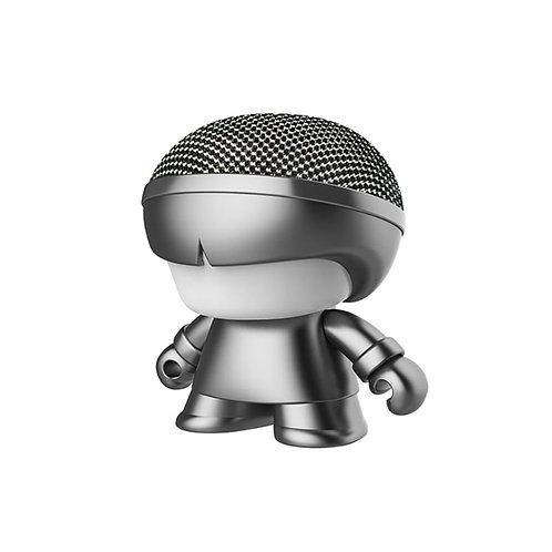 Enceinte Bluetooth Nomade - Mini Xoopar Boy Metal Gris