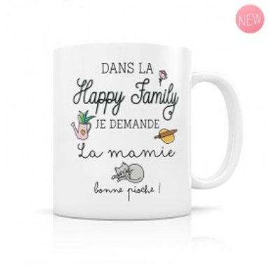 Mug Happy Family - La Mamie