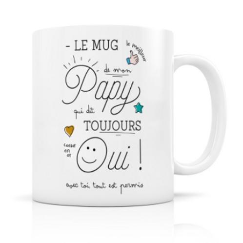 Mug - Papy qui dit toujours oui