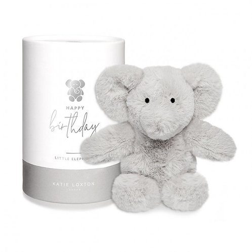 Éléphant - Peluche Doudou HAPPY BIRTHDAY