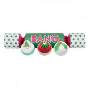 BANG - Coffret Cracker 3 bombes de bain