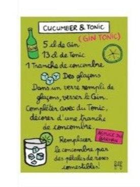 Magnet - Cucumber & Tonic