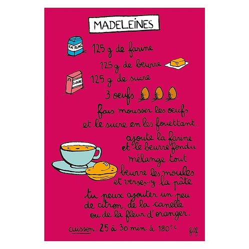 Magnet - Madeleines