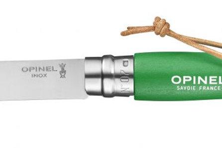 Couteau Opinel N°07 - Vert Prairie