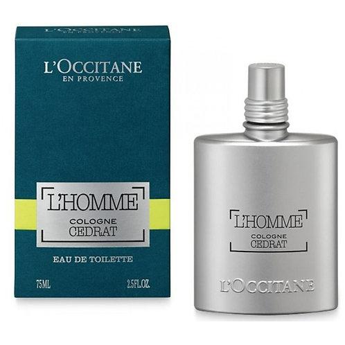 Cologne CEDRAT - Eau de toilette Homme 75 ml