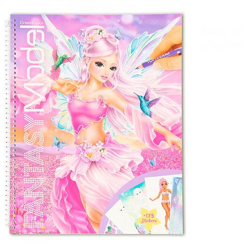 Fantasy Model Album à colorier Create your Fantasy- TOPMODEL