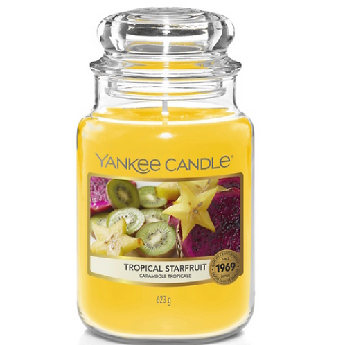 Jarre GM Carambole Tropicale - Yankee Candle