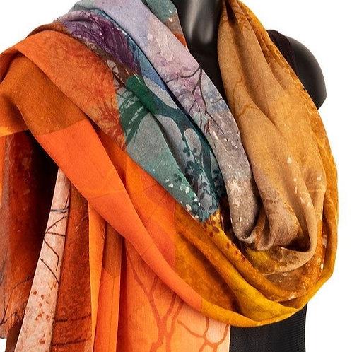 York Scarves Cashmere Mix Autumn Shawl