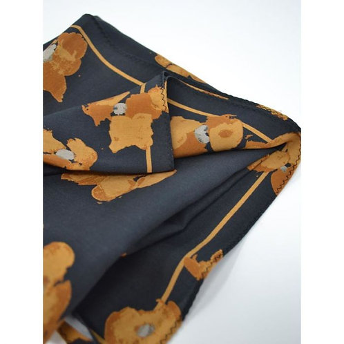Thought Jekyll Print Tencel Scarf  Gift Box