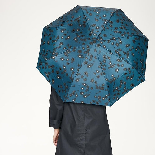 Thought Jekyll Print Umbrella - Majolica Blue