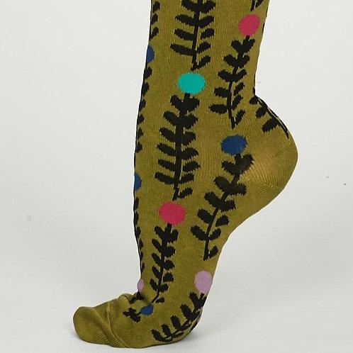 Thought Bamboo Socks - Keira, Lichen Green (Women's)