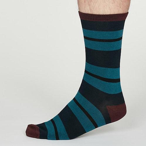 Thought Bamboo Socks - Jacob, Navy Blue (Men's)