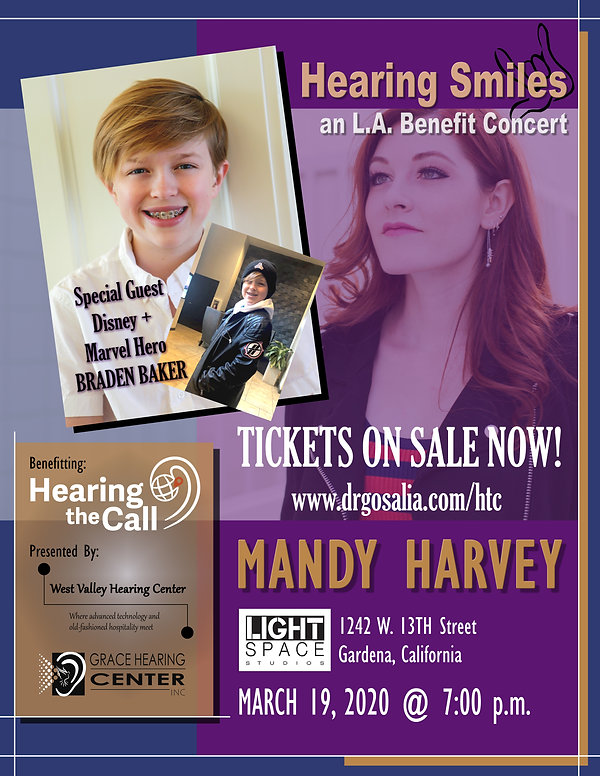 Mandy Harvey Flyer 1 14 2020 hearing smi