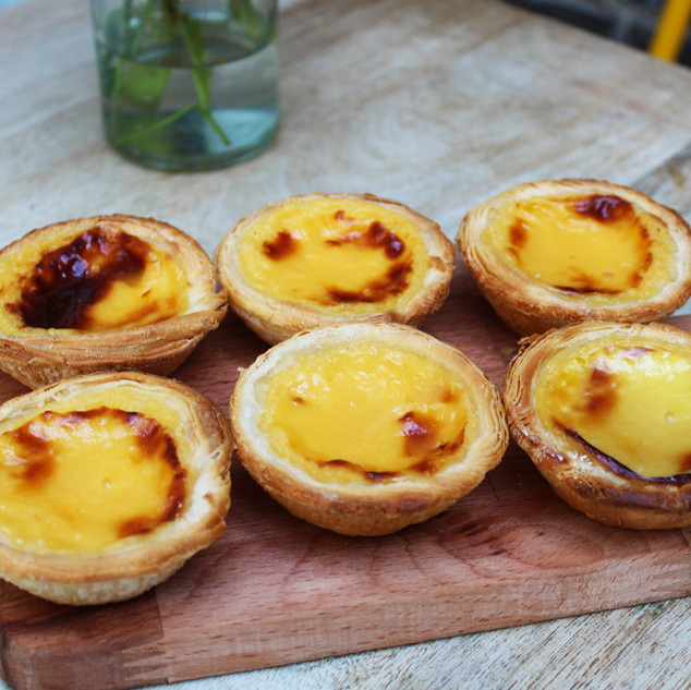 The well known Pastel de nata...