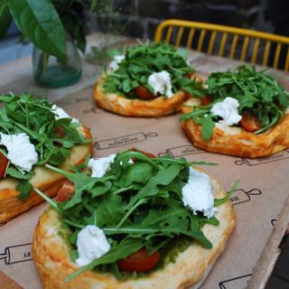 Vegetarian Pizzetas