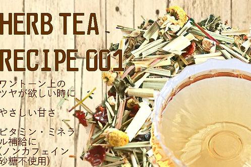 HERB TEA RECIPE 001