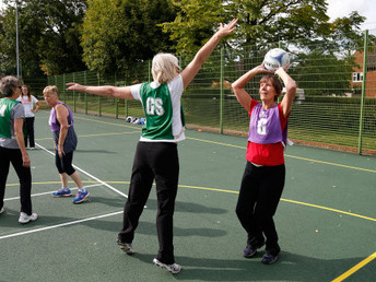 Introducing Walking Netball