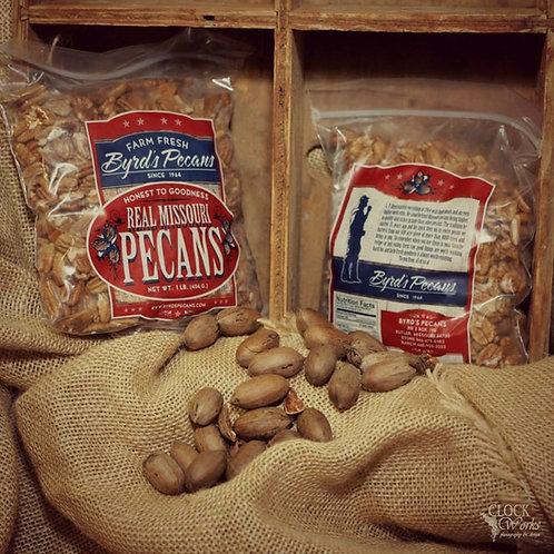 Missouri Native Farm Fresh Pecans - 1 pound