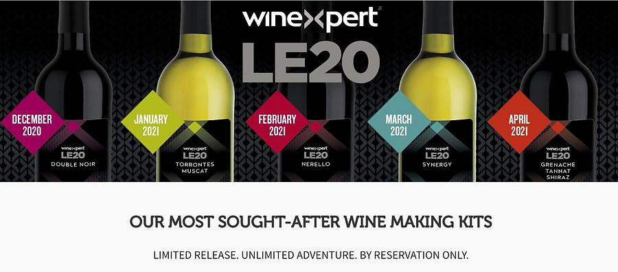 LE20 winexpert burlington