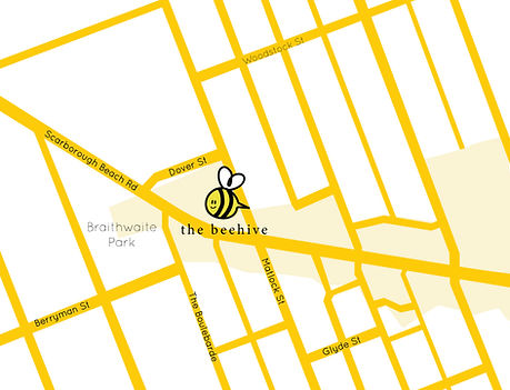 Bee Chiropractic Mount Hawthorn Map