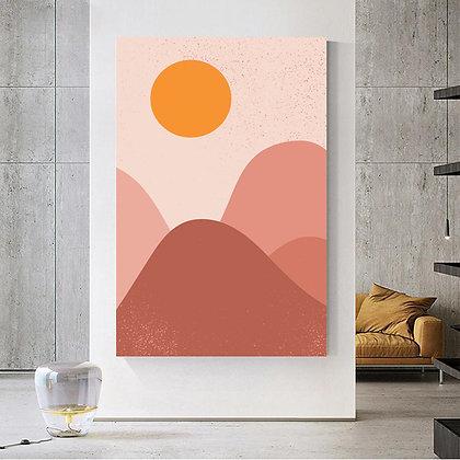 Sunce u planinama