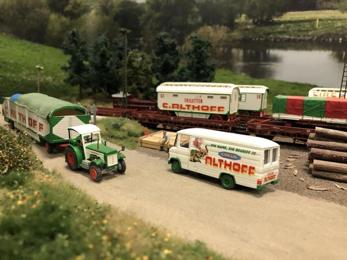 Besuch bei der Circus & Kirmes Modellbau-Ausstellung in Oer Erkenschwick