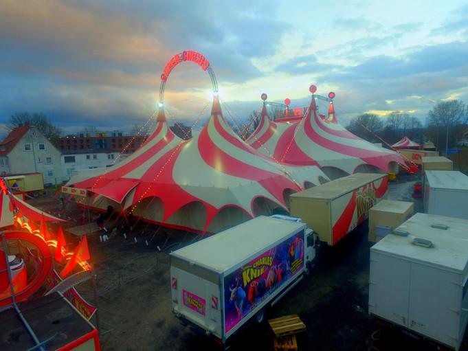 Besuch beim Circus Charles Knie / Einbeck