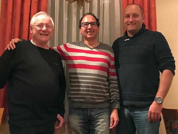 Ludwig Below, Uwe Zachan, Marco Herr, GCD Sektion KAssel