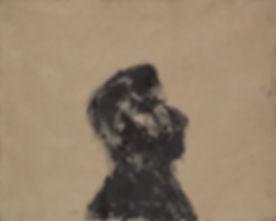 Head-1.-Black-pigment-resin-on-canvas.-7
