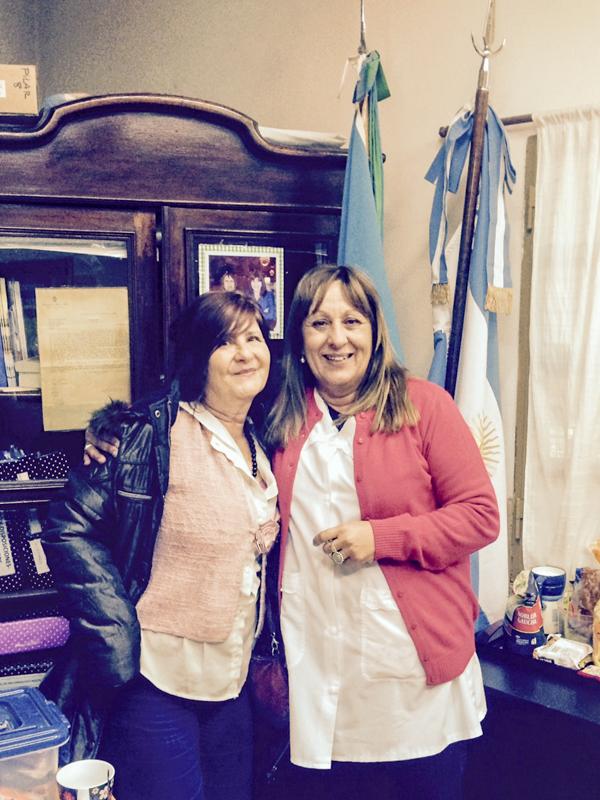 Edith Cheb Terrab y Mónica Prieto