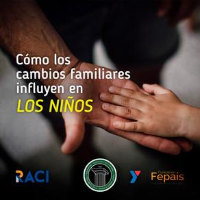 Cómo influyen los cambios familiares en los niños
