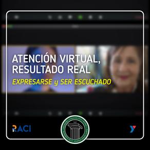 Atención virtual, resultado real