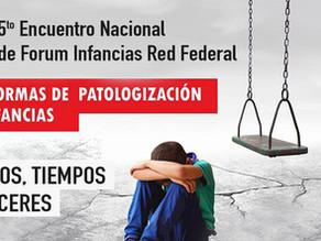 Encuentro Nacional de Forum Infancias Red Federal