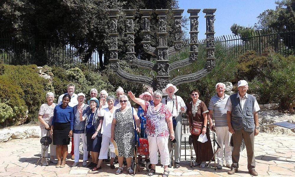 Met een groep van voornamelijk 70+ senioren maakten we een prachtige groepsreis naar Jeruzalem in Israel.