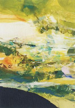 「蒼く渡る」/72.7×51.5cm/2007