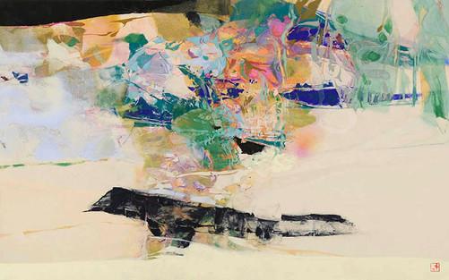 「空の屈折」/M10号/2012