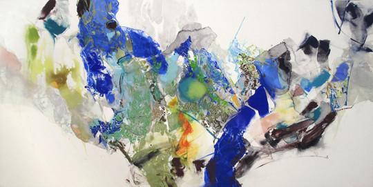 「樹の静脈」/91.0×182.0cm/2012