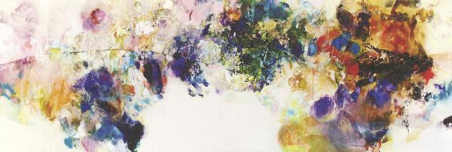 「蒼いちから」/460.0×154.0cm/2004