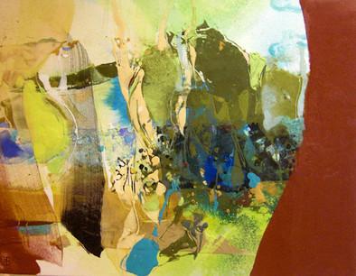 「植物の色」/F6号/2011
