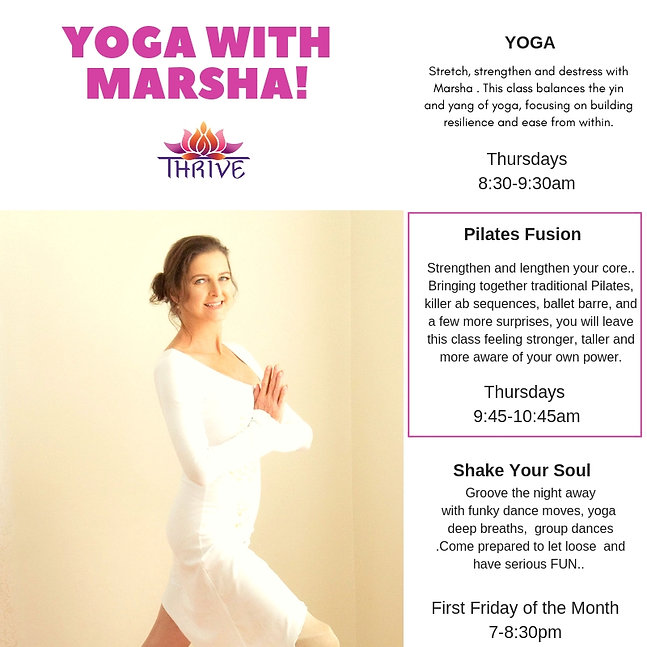 Stretch, strengthen and destress with Ma