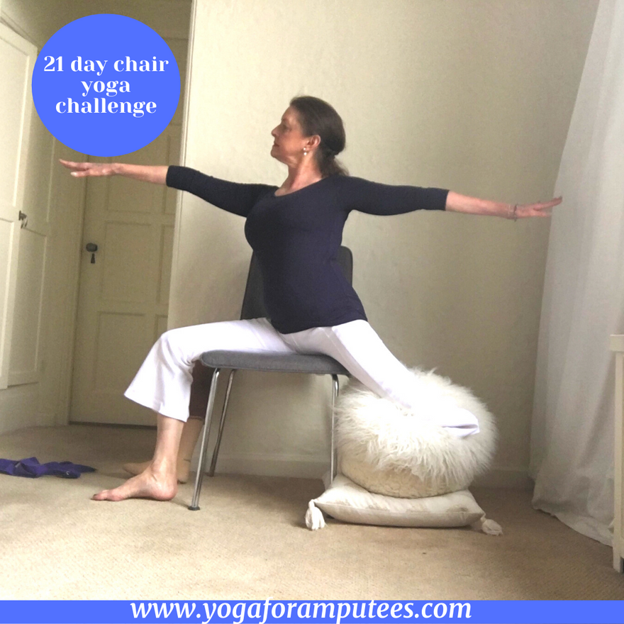 Chair Yoga Challenge