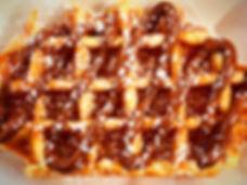 Nutella Belgian Waffle