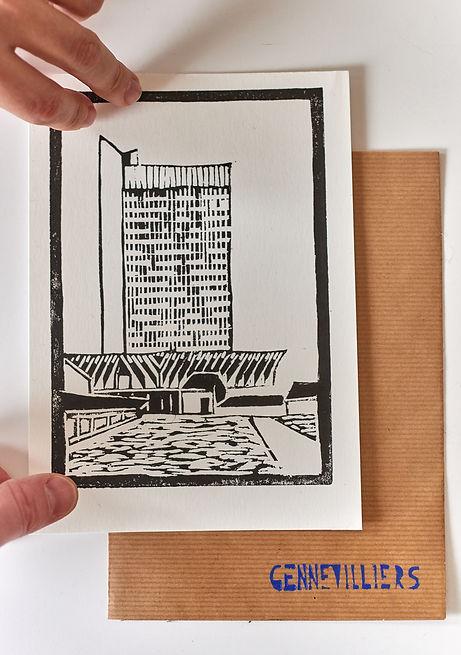 Hotel de ville de Gennevilliers - Lisadie Dutillieux
