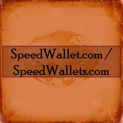 SpeedWallet.com/ SpeedWallets.com