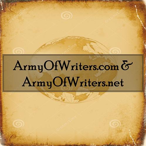 ArmyOfWriters.com/.net