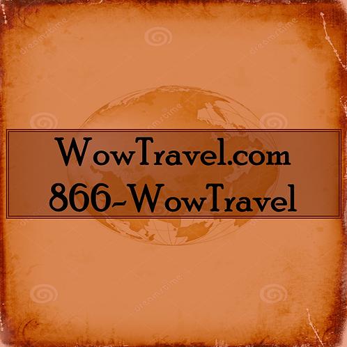WowTravel.com/ 1-866-WowTravel
