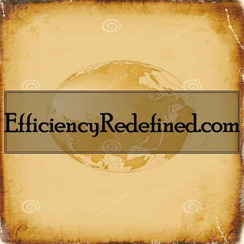 EfficiencyRedefined.com