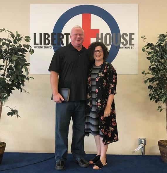 Pastor Steve & wife Julie