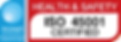 OCL_P07_F08b Ocean Logo OHSMS (ISO 45001