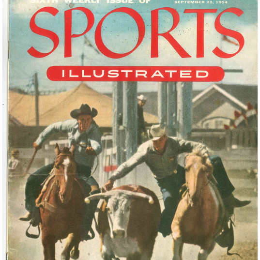 Bill Collins on 1954 Sports Illustrated